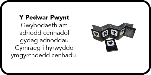Y Pedwar Pwynt - Gwybodaeth am adnodd cenhadol gydag adnoddau Cymraeg i hyrwyddo ymgyrchoedd cenhadu.